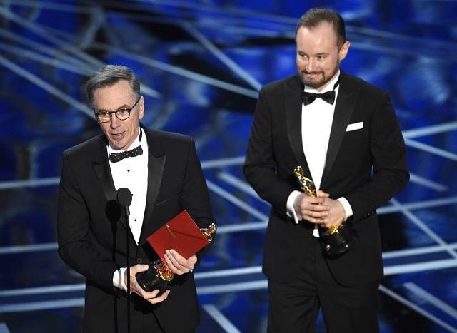 Kevin O'Connell a  Andy Wright si odnesli cenu za Nejlepší zvuk.