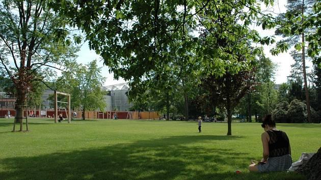 park Komenského.