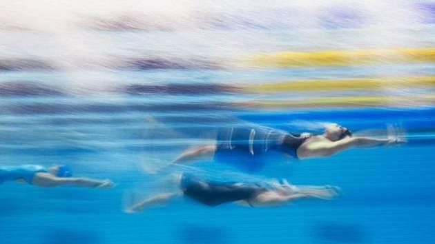 Plavání, znak - ilustrační fofo.