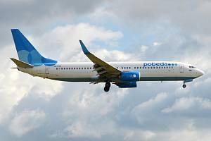 Boeing 737 letecké společnosti Pobeda
