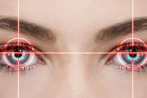 Oči - ilustrační foto.