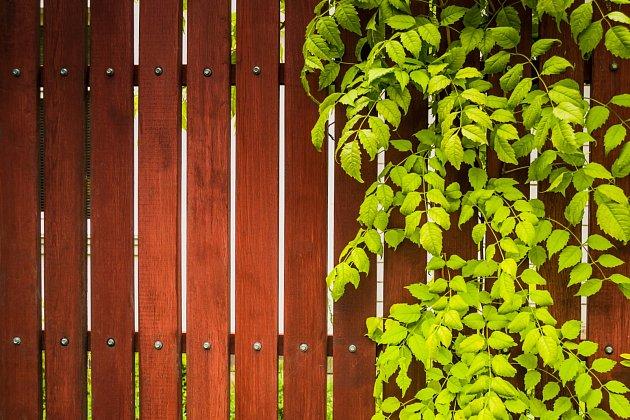 Nejenom kvenkovským a rekreačním stavením se dobře hodí plot zdřevěných latí a prken.