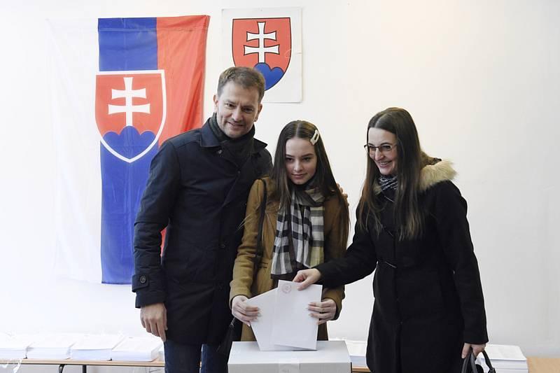 Igor Matovič s rodinou