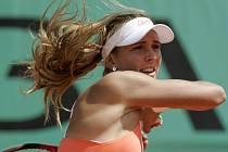 Nicole Vaidišová je po vítězství nad Australankou Stosurovou v osmifinále Roland Garros.