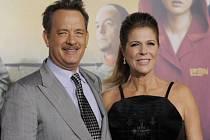 Herecký pár Tom Hanks a Rita Wilsonová