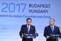 Viktor Orbán a Li Kche-čchiang