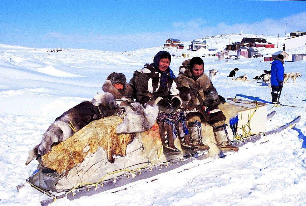 Výbava Inuitů