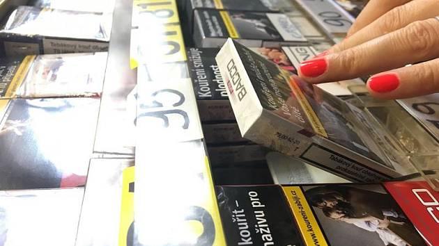 Cigarety v prodeji nesplňující zákonné náležitosti