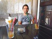 Andrej Babiš junior během pobytu na Krymu