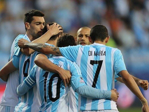 Argentina slaví výhru