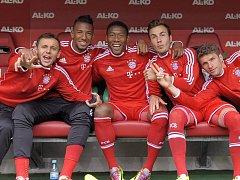 Budou se fotbalisté Bayernu Mnichov usmívat i po odvetě čtvrtfinále Ligy mistrů s Manchesterem United?