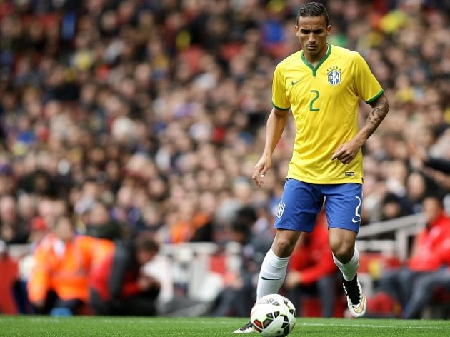 Danilo v dresu brazilské reprezentace