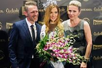 Česká Miss 2016 Andrea Bezděková, rodiče.