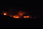 Požár na Makarské riviéře