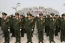 Bezpečnost nade vše, to je krédo čínských úřadů během olympiády.