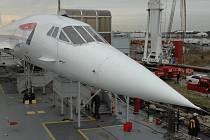 Nadzvukové letadlo Concorde