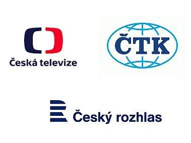 ČT, ČRo a ČTK