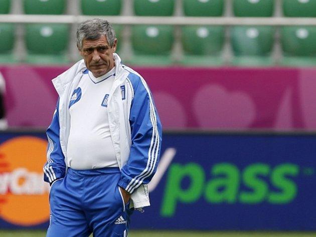 Trenér fotbalistů Řecka Fernado Santos.