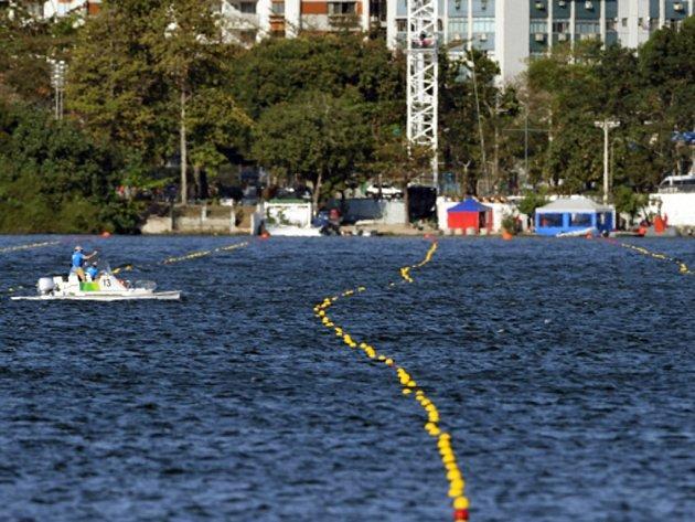 Kvůli silnému větru byl v Riu zrušen nedělní program veslařů.