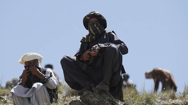 Bojovníci afghánského Tálibánu - ilustrační foto