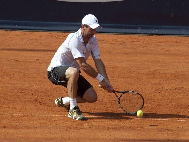 Jan Hájek na turnaji v Hamburku.