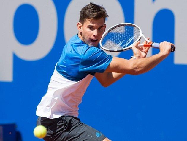 Dominic Thiem na turnaji v Mnichově.
