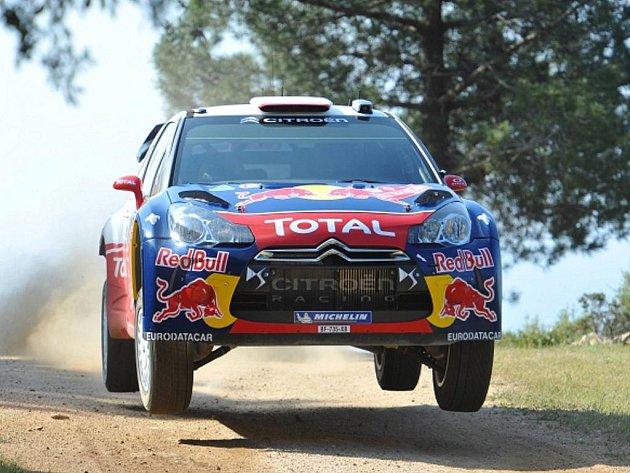 Sébastien Loeb na Italské rallye.