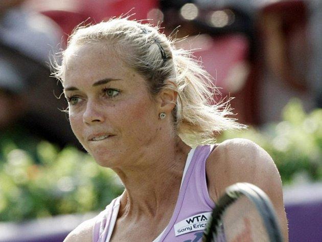 Klára Zakopalová na turnaji v Soulu.