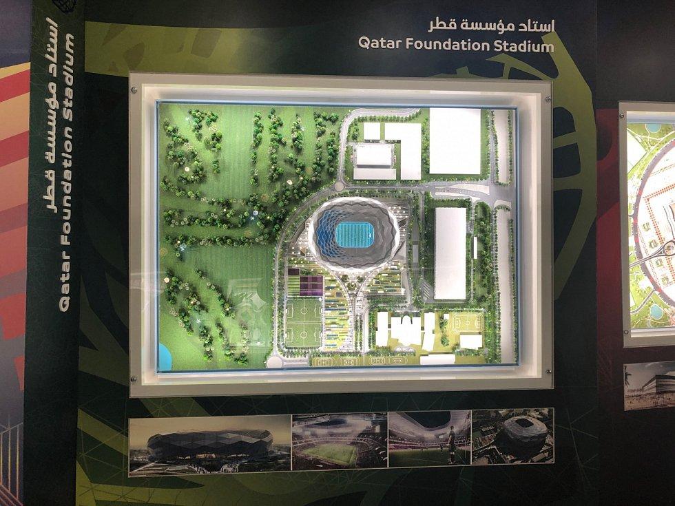 Qatar Foundation Stadium.