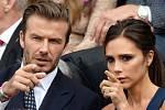 Finále Wimbledonu: David a Victoria Beckhamovi