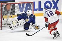 O vítězství Česka rozhodl Dominik Kubalík