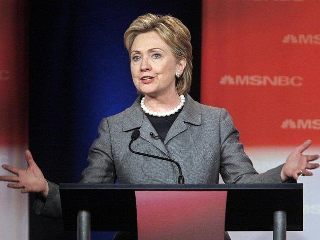 Kandidátka Hillary Clintonová