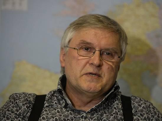 Podnikatel Igor Sládek, který hodlá kandidovat na prezidenta.