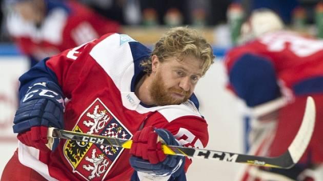 Český hokejista Jakub Voráček.