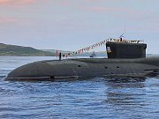 Ruská jaderná ponorka Jurij Dolgorukij