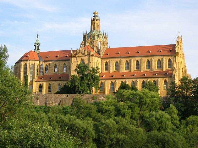 Benediktinský klášter v Kladrubech.