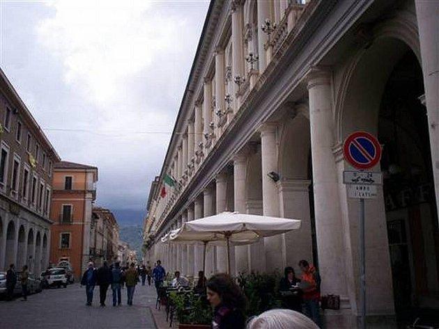 Italské město Aquila - ilustrační snímek