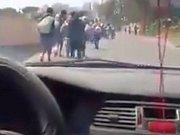 Libyjští migranti na útěku
