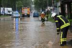 Záplavy v německém Kasselu