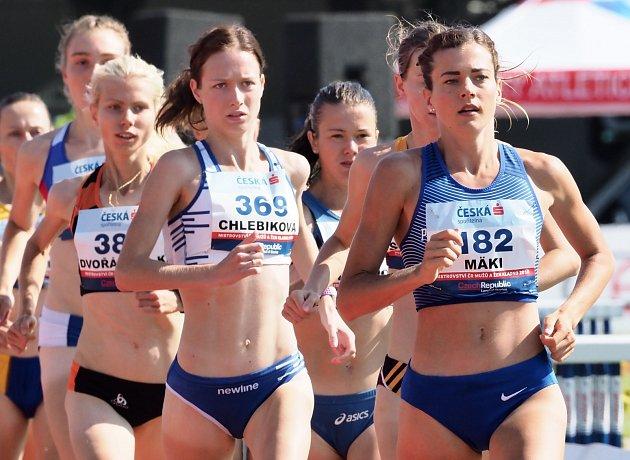 Běžkyně sčesko-finskými kořeny Kristiina Mäki.