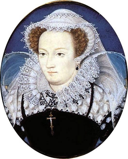 Marie Stuartovna v době, kdy ji její prasestřenice Alžběta I. věznila na různých hradech v Anglii.