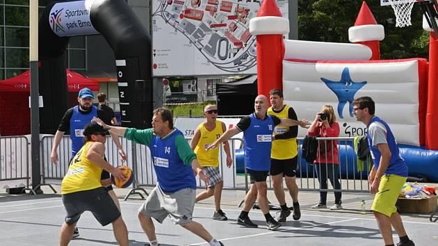 Sportoviště na brněnském výstavišti