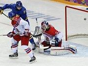 Česko - Švédsko: Čtvrtý gól a jediný, který dostal Alexandr Salák