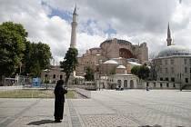 Chrám Boží Moudrosti (Hagia Sofia) v tureckém Istanbulu