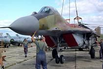 Vojenský historický ústav Praha získal ze Slovenska vzácný exponát – stíhací letoun MiG-29 sovětské výroby. Nyní má tak kompletní řadu všech stíhaček MiG, které sloužily v někdejší československé armádě.