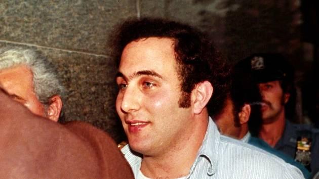 Vrah David Berkowitz po zadržení