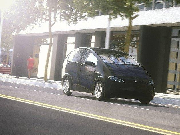 Elektromobil Sion.