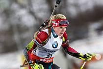 Biatlonistka Gabriela Soukalová znovu zazářila.