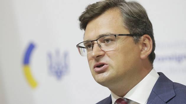 Ukrajinský ministr zahraničí Dmytro Kuleba