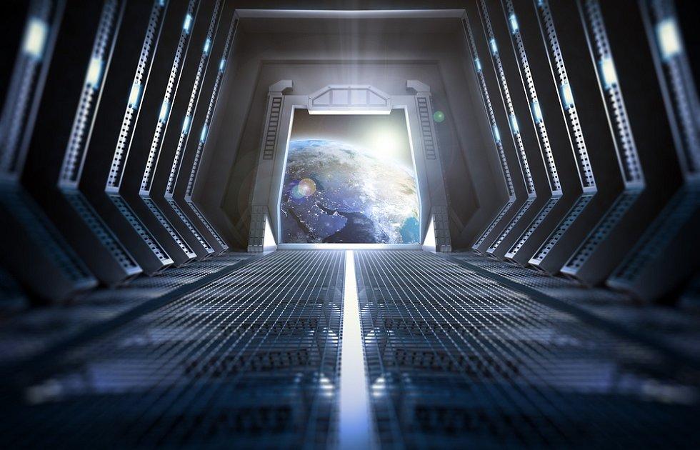 """Díla se sci-fi tematikou se často odehrávají uvnitř vesmírných plavidel. Prostor pro zcela nové """"vynálezy"""" tak mají autoři obrovský."""